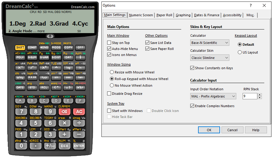���� ��� ����� ������ ������ ����� ������ DreamCalc Professional Edition 4.9.0